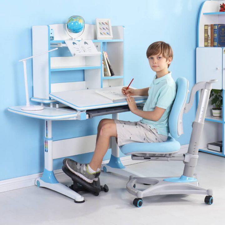 bộ bàn ghế học sinh thông minh cho bé