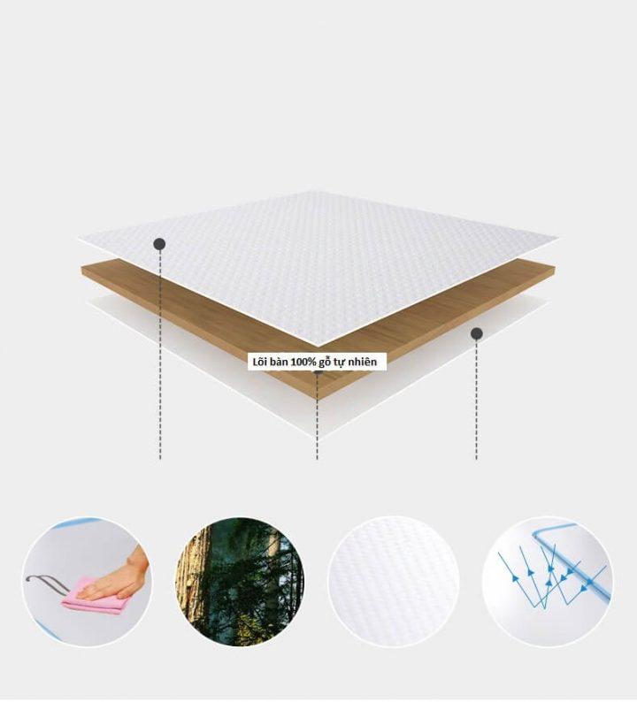 chất liệu bàn ghế học thông minh