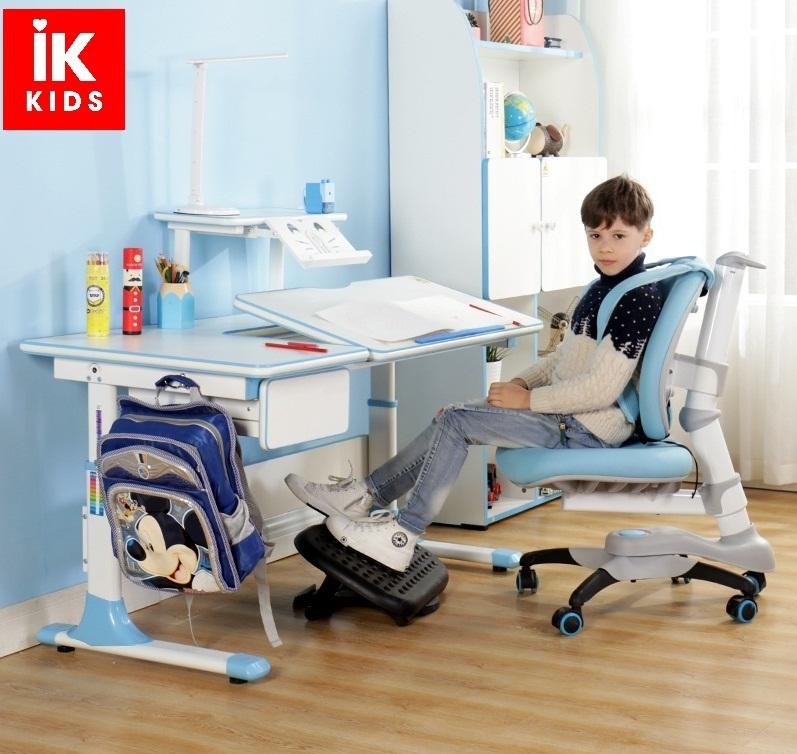 bộ bàn ghế chống gù lưng chống cận thị Lex 502/106 màu xanh nhỏ gọn