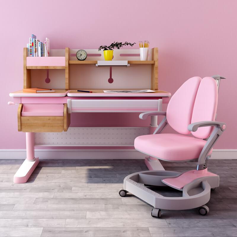 bộ bàn học 120u/w2s hồng